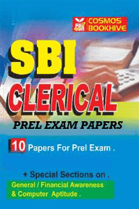 SBI Clerical Prel Exam Papers